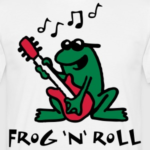 frog_n_roll_072011_e_3c T-Shirts - Men's T-Shirt