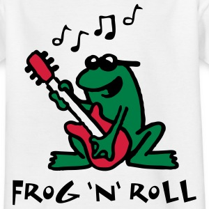 frog_n_roll_072011_e_3c Shirts - Teenager T-shirt