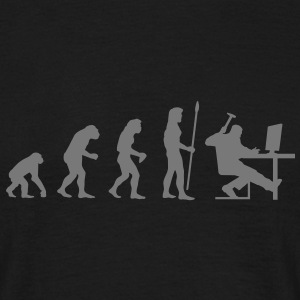 evolution_dator T-shirts - T-shirt herr
