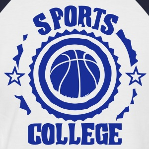 sports college basketball T-shirts - T-shirt baseball manches courtes Homme