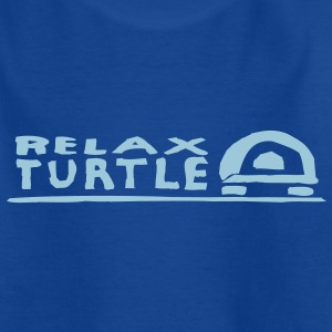 relax skildpadde T-shirts - Teenager-T-shirt