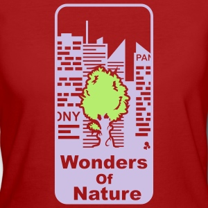 'Wonders of Nature' Mujeres camiseta clima neutral - Camiseta ecológica mujer