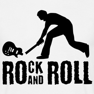 rock_and_roll_072011_a_1c T-Shirts - Men's T-Shirt
