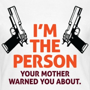 Im The Person 2 (dd)++ T-shirts - Dame-T-shirt