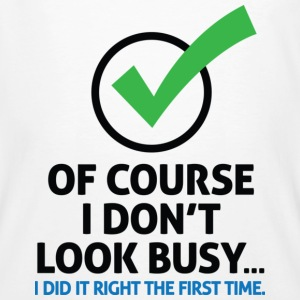 I Dont Look Busy 2 (dd)++ T-shirts - Ekologisk T-shirt herr
