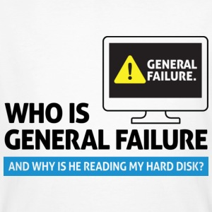 General Failure 2 (dd)++ T-shirt - T-shirt ecologica da uomo