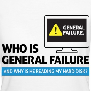 General Failure 2 (dd)++ T-Shirts - Frauen Bio-T-Shirt