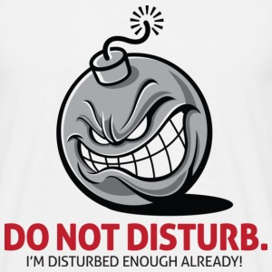 Do Not Disturb 1 (dd)++ T-Shirts - Men's T-Shirt