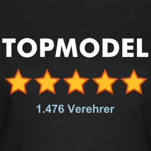 TOPMODEL - RATE YOURSELF with 5 STARS - Frauen T-Shirt