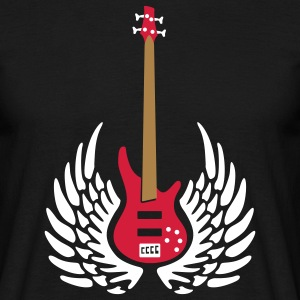 bass_guitar_072011_c_3c T-shirts - Mannen T-shirt