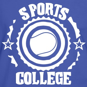 sports college tennis T-shirts - T-shirt contraste Homme