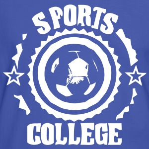 sports college football1 T-shirts - T-shirt contraste Homme