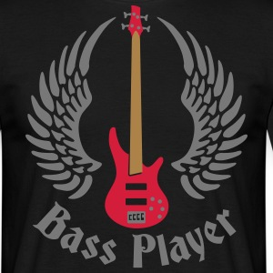 bass_guitar_072011_e_3c T-Shirts - Men's T-Shirt