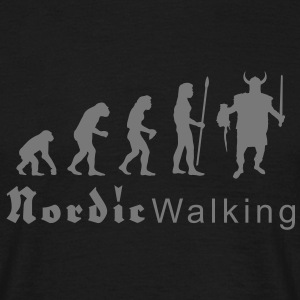 evolution_nordicwalking1 T-Shirts - Männer T-Shirt