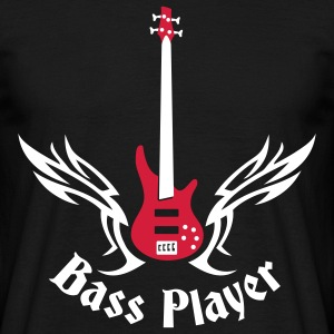bass_guitar_072011_h_2c T-shirts - Mannen T-shirt