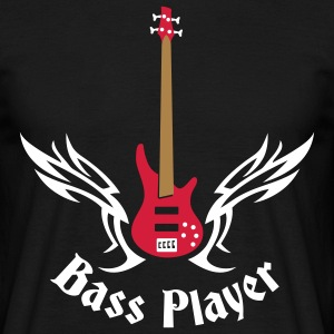 bass_guitar_072011_h_3c T-shirts - Mannen T-shirt