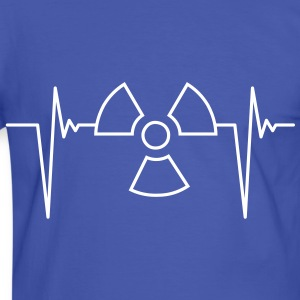 atom_pulse_1c T-Shirts - Men's Ringer Shirt