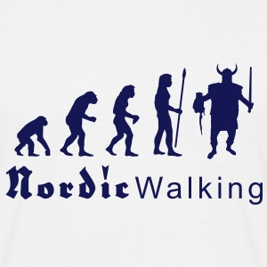 evolution_nordicwalking1 T-shirts - T-shirt Homme