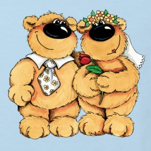 Wedding Bears Kids' Shirts - Kids' Organic T-shirt
