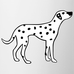 Dalmation Dog Mugs  - Mug