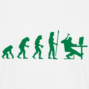 evolution_pc_1 T-Shirts - Men's T-Shirt