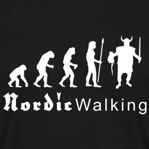 evolution_nordicwalking1 T-Shirts - Men's T-Shirt