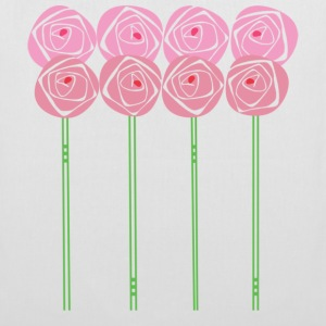 Single-Sided Art Nouveau Roses in the Mackintosh Style - Tote Bag