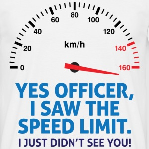 Speed Limit 2 (dd)++ T-shirts - T-shirt Homme
