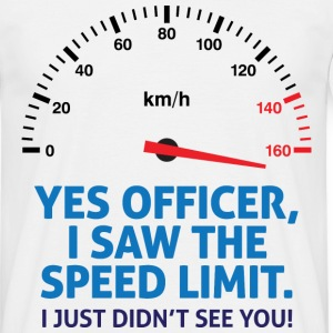 Speed Limit 2 (dd)++ T-Shirts - Men's T-Shirt