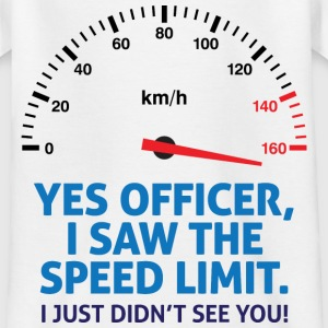 Speed Limit 2 (dd)++ Kinder shirts - Teenager T-shirt
