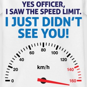 Speed Limit 1 (dd)++ Kinder shirts - Teenager T-shirt