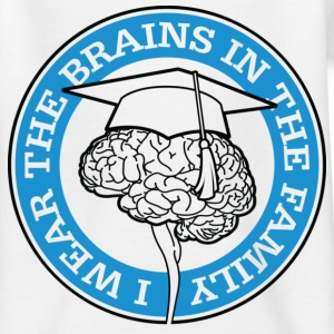 Wear The Brains 1 (dd)++ Kinder shirts - Teenager T-shirt