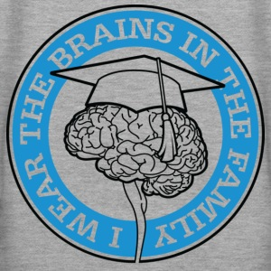 Wear The Brains 1 (dd)++ Sweatshirts - Sweat-shirt à capuche Premium pour femmes