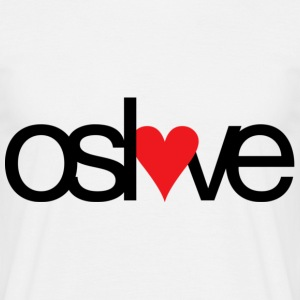 Oslove - digitaltrykk - T-skjorte for menn