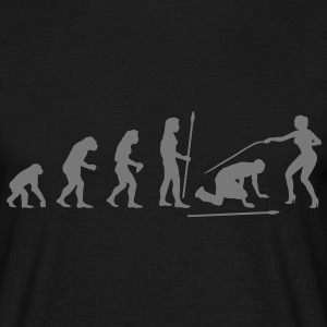 evolution_wedding3 T-Shirts - Männer T-Shirt