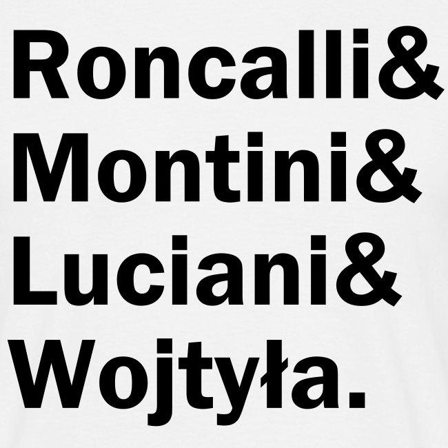 Roncalli& (schwarzer Druck)