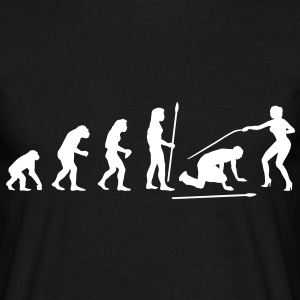 evolution_wedding3 T-shirts - T-shirt Homme
