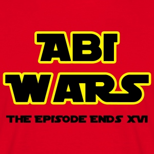 Abitur: Abi Wars The Episodes ends 2016 T-Shirts - Männer T-Shirt