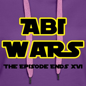 Abitur: Abi Wars The Episodes ends 2016 Pullover - Frauen Premium Hoodie