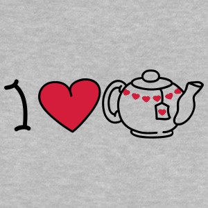 I love tea Babytröjor - Baby-T-shirt