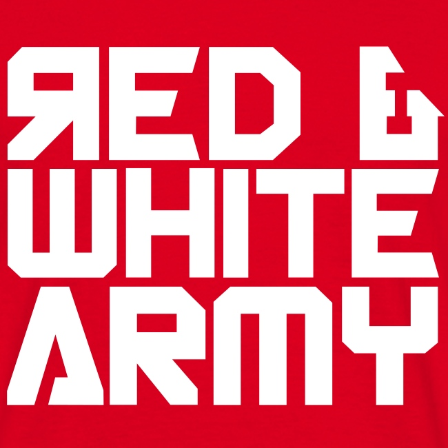 Red & White Army red
