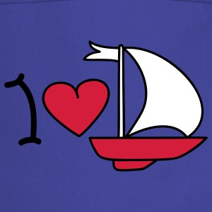 I love sailing Kookschorten - Keukenschort