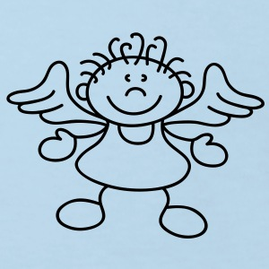 Tousled little angel Barn-T-shirts - Ekologisk T-shirt barn