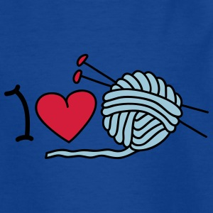 I love needlework T-shirts Enfants - T-shirt Ado