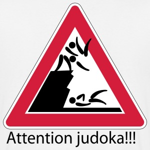 Attention judoka T-shirts - T-shirt Homme