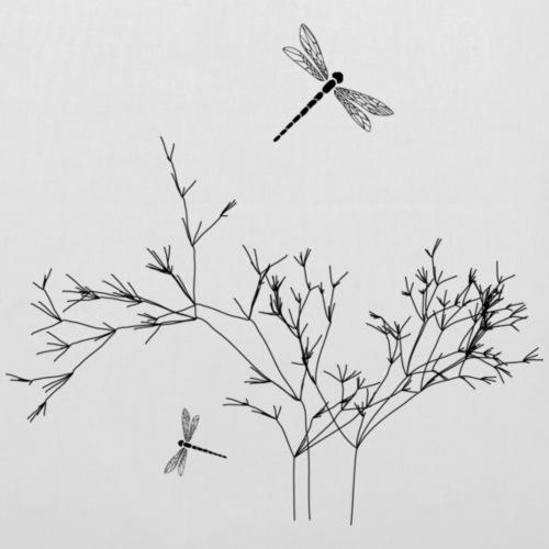 dragonfly schwarz