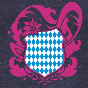 A Bavarian emblem Hoodies & Sweatshirts - Women's Boat Neck Long Sleeve Top