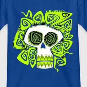 hyno skull Kids' Shirts - Teenage T-shirt