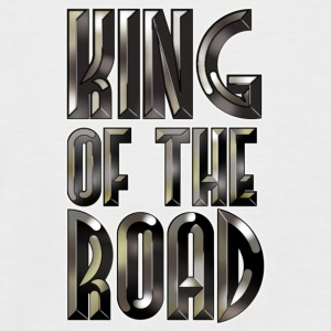 King Of The Road (Black Steel Logo) - Männer Baseball-T-Shirt