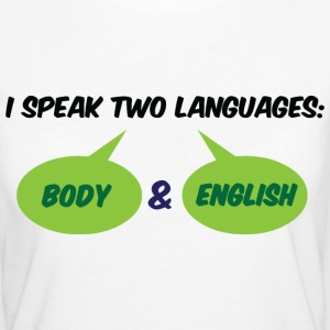 I Speak Two Languages 1 (dd)++ T-skjorter - Økologisk T-skjorte for kvinner